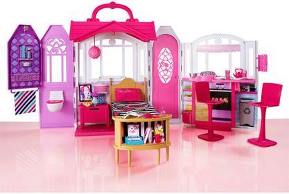 Barbie - Fantastyczny DOMEK z mebelkami CHF54