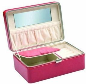 Szkatułka na biżuterię Samsonite - szary różowy 979 208 pink