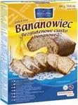 Bezgluten ciasto bananowe 300g 5906720572283
