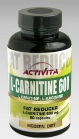 Activita L-karnityna 60 kap./600mg