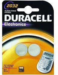Duracell Batteries litowa DL 2032 B2