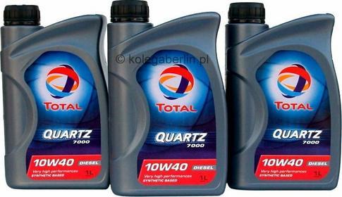 Total Quartz Diesel 7000 10W-40 1L