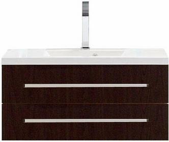 Antado VARIETE Szafka pod umywalkę wisząca z dwiema szufladami 40,5x100x39 graf