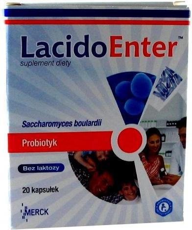 Merck LacidoEnter Probiotyk 20 szt.