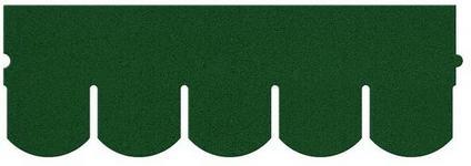 Matizol Gont karpiówka  3 85 m2 zielony