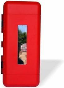 b/d Skrzynka na gaśnicę REGON 6 plastikowa z oknem