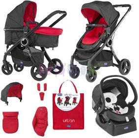 Chicco Urban Plus 3w1 red wave