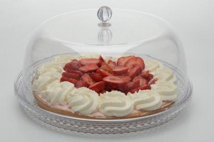 Excellent Houseware EH Patera na ciasto, tort z kloszem 179640660 4482 2A1