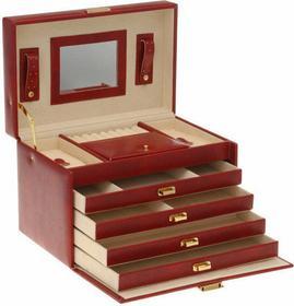 Szkatułka z szufladkami, Kuferek na biżuterię