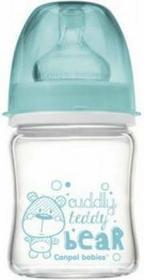 Canpol babies Antykolkowa szklana butelka EasyStart 120 ml 79/001 - 1 szt.