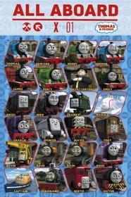 Tomek i przyjaciele Profile - Plakat