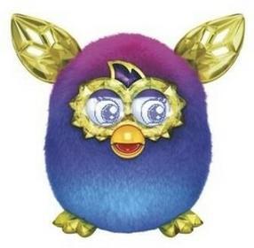 Hasbro Furby Boom Sweet Zabawka interaktywna Purple&Blue Ombre
