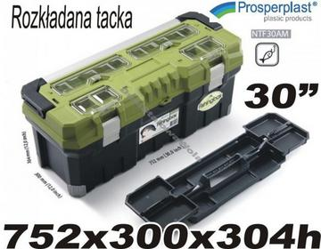 Prosperplast TITAN FISHINGBOX ALU NTF30AM Skrzynka wędkarska750x300x304h rozkład