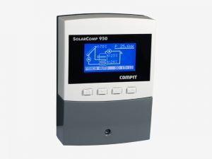 Compit Sterownik kontroler solarny SolarComp 951 - 4 czujniki temperatury, kolek