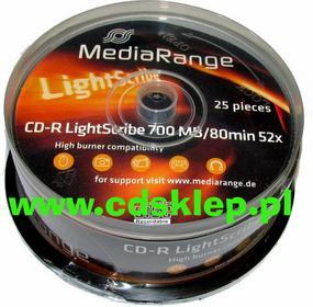 Media Range CD-R MediaRange Tak 700MB Szpula 25