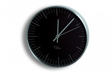 Tempus Zegar ?ścienny czarny, indeksy, 20 cm - PHILIPPI