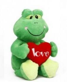 Żabka z sercem