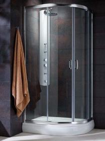 Radaway Premium Plus E 90x80 szkło fabric 30492-01-06N