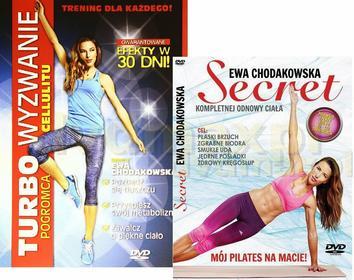 Ewa Chodakowska: Turbo wyzwanie! Pogromca cellulitu / Secret (Sekret) Pakiet [2D