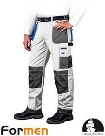 Leber & Hollman spodnie ROBOCZE LH-FMN-T BIAŁE (WSN)