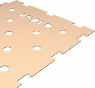 Aspro Tekturowy podkład na ogrzewanie podłogowe 4 mm