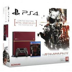 Sony Playstation 4 (PS4) 500GB Edycja Limitowana + gra Metal Gear Solid V: Phantom Pain