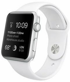 Apple Watch 38 mm Aluminium / Biały