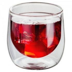 Judge Szklanki do drinków napojów podwójne ścianki 2 szt JU-JDG15