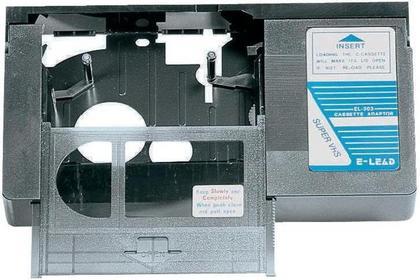 Kaseta adapter do kamer VHS-C => VHS