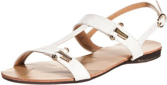 Enza Nucci sandały biały JL1800