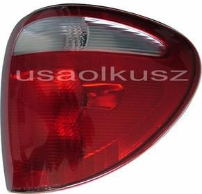 ROZNI Prawa tylna lampa USA Chrysler Voyager Town Country 2001-2004