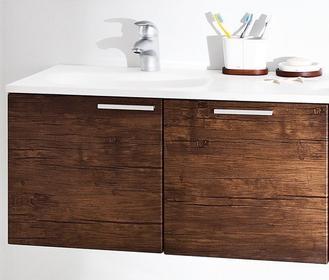 Antado KTS moduł 45 Szafka pod umywalkę z szufladą 45x90x48 lewa, stare drewno
