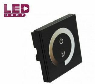 S-LED Ściemniacz LED ścienny z panelem dotykowym 12V 8A 6065
