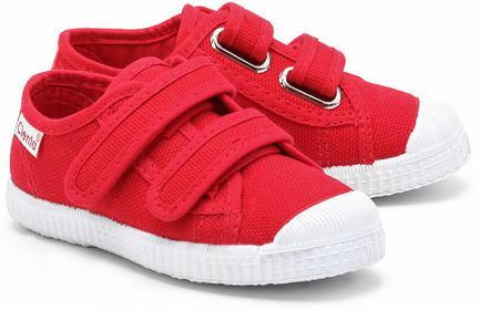 Cienta Velcro Basquet - Czerwone Kapcie Dziecięce - 78020 02