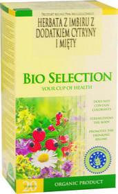 Apotheke herbata Imbir (cytryna i mięta) BIO - 20 szt.