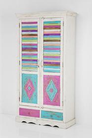 Kare Design Szafa Caramella - 2 drzwi, 2 szuflady