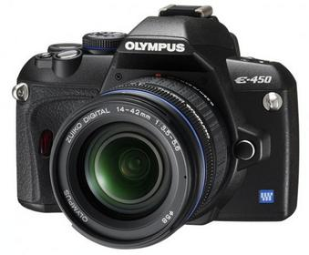 Olympus E-450 + 14-42 kit