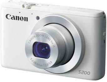 Canon PowerShot S200 biały