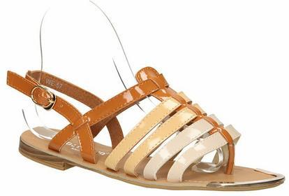 Casu sandały WE-57 brązowy