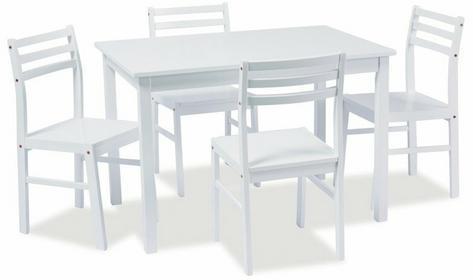 Signal Stół TROMSO + 4 Krzesła
