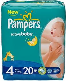 Pampers Active Baby 4 Maxi 99 szt.
