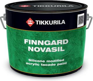 Tikkurila Farba akrylowo silikonowa Fingard Novasil 9L - Farba akrylowo silikono