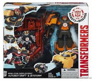 Hasbro Transformers RID Autobot Drift & Jetstorm B1977