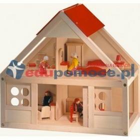 Bino Domek dla lalek z wyposażeniem