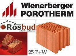 Wienerberger Pustak ceramiczny 25