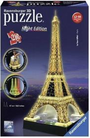 Ravensburger 3D Wieża Eiffla nocą 125791