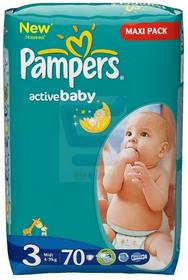 Pampers New Baby-Dry 3 Midi 70 szt.