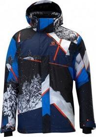 Salomon Męska Kurtka narciarska Zero Jacket M union blue