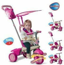 Smart Trike Vanilla 4w1