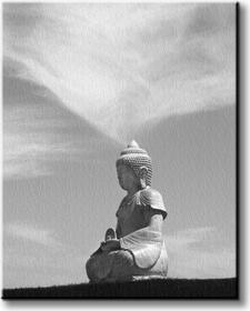 Buddha - Obraz na płótnie